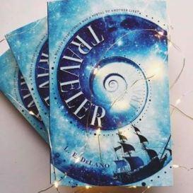 TRAVELER #Giveaways via #Goodreads & Others! | L E  DeLano