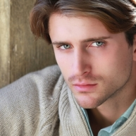portrait of young attractive man with impressive eyes